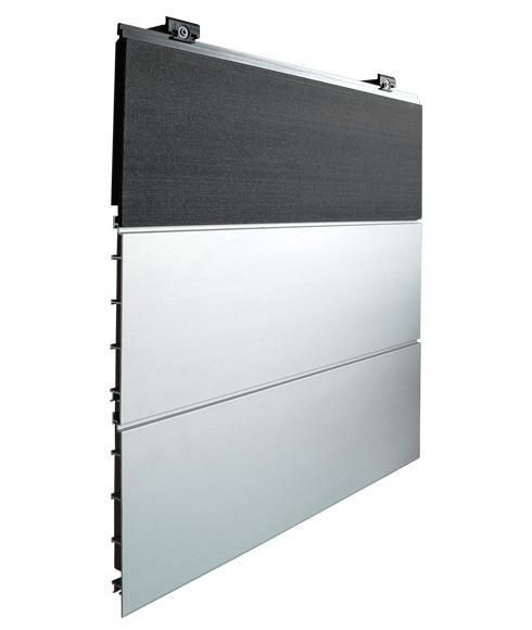 Neue Aluminium-Fassade Fassadensysteme von Inoutic