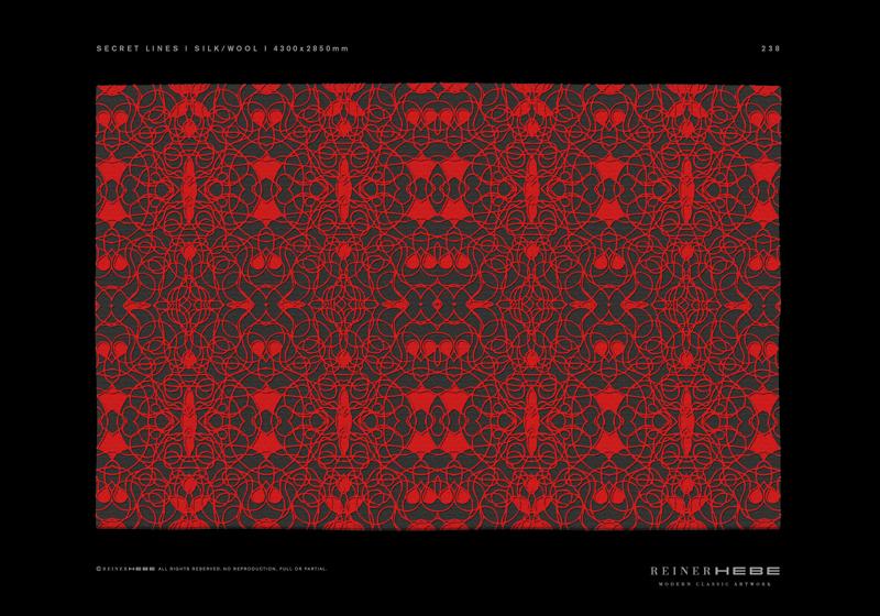 Modern Classic Artwork Design Award für Kollektion Carpet Rich Flower