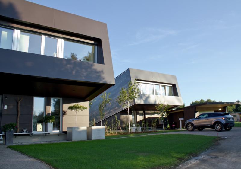 Smart-Loft für Individualisten energieeffizientes intelligentes Gebäudekonzept von Designer Gerold Peham