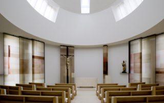 Kapelle der Gesundung der Elisabethinen Tonputz Heilerde von EMOTON