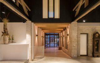 Alter Gutshof saniert Naturbaustoffe Energieverbrauchsniveau auf Neubaustandard von Unger Diffutherm