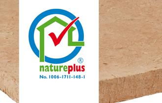 natureplus® zertifizierte Lehmbauplatte Lehm-Wohlfühlklima von LEMIX®