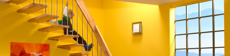 Gefahrenquelle Treppe Kindersichere Treppen mit geringem Aufwand von Treppenmeister