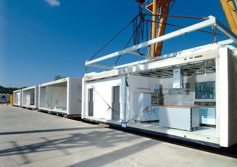 Massivhausbau 2.0 Massive Raummodule aus Leichtbeton von Dennert Massivhaus