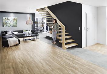 Stilvolle Treppengestaltung mit heimischem Hartholz von Treppenmeister