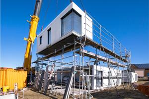Massivhausbau an nur einem Tag von horrydoo