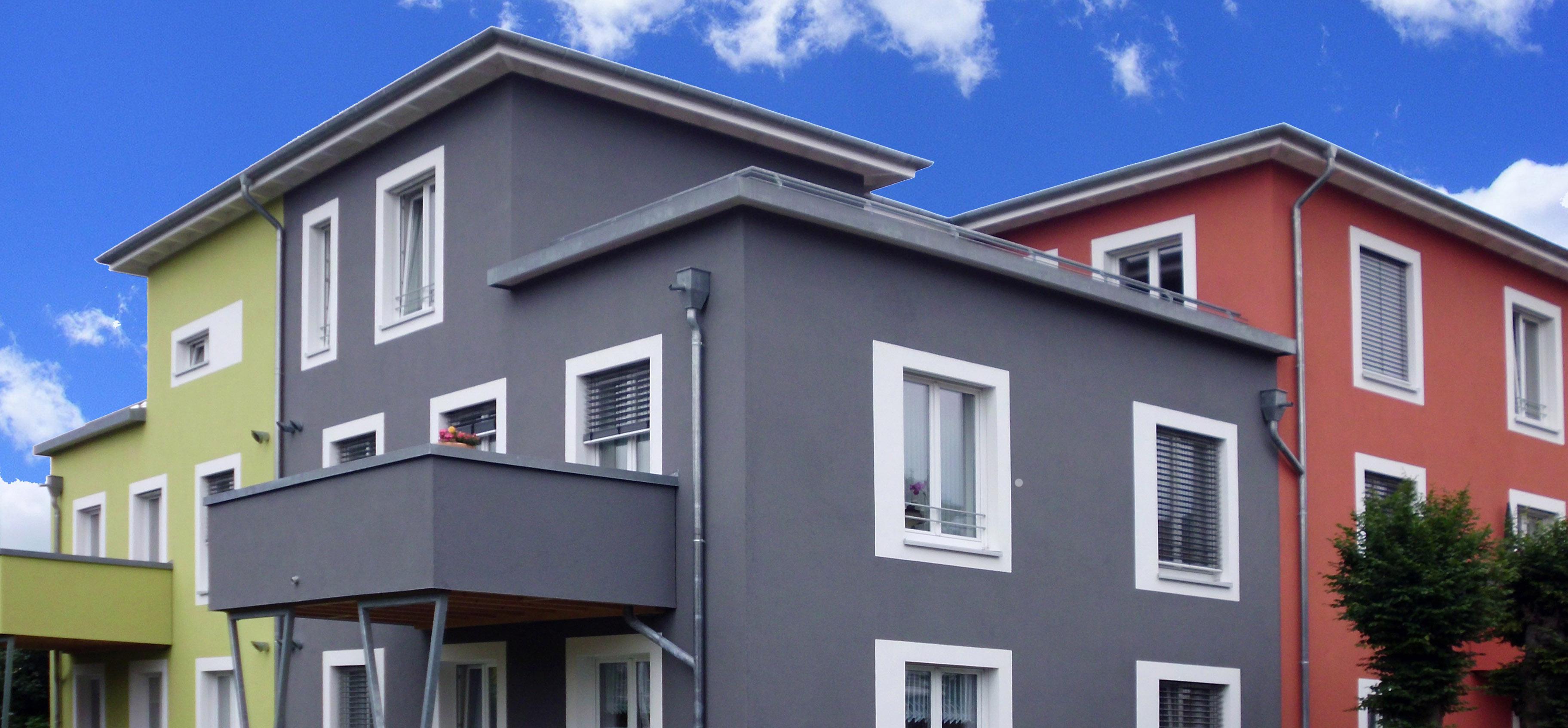 Neue Farbvariationen als Hitzeschutz für gedämmte Fassade von horrydoo