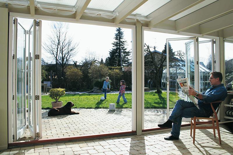 Falttüren - die direkte Verbindung zur Natur von horrydoo