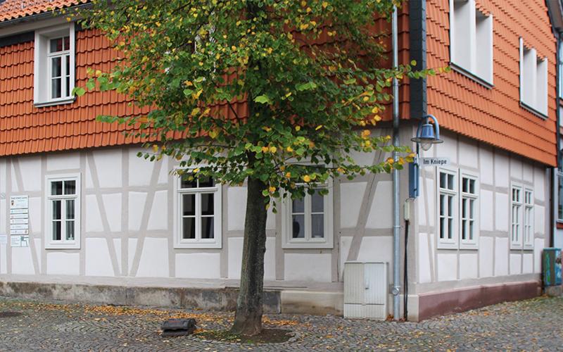 Das Bauamt Alfeld (Leine) wurde mit Schweizer Naturkalk von Haga saniert.